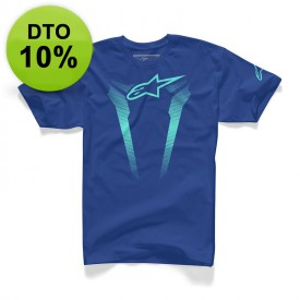 CAMISETA ALPINESTARS ROYAL AZUL