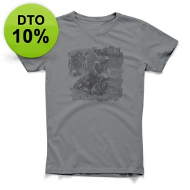 CAMISETA ALPINESTARS STAMP TEE CHARCOAL