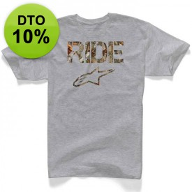 CAMISETA ALPINESTRAS RIDE CAMO