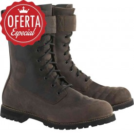 BOTA ALPINESTARS FIRM DRYSTAR MARRON