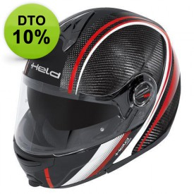 CASCO HELD CT-1200 CARBON ROJO