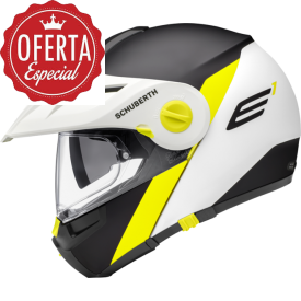 CASCO SCHUBERTH E1 GRAVITY AMARILLO