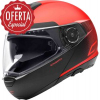 CASCO SCHUBERTH C4 RESONANCE ROJO
